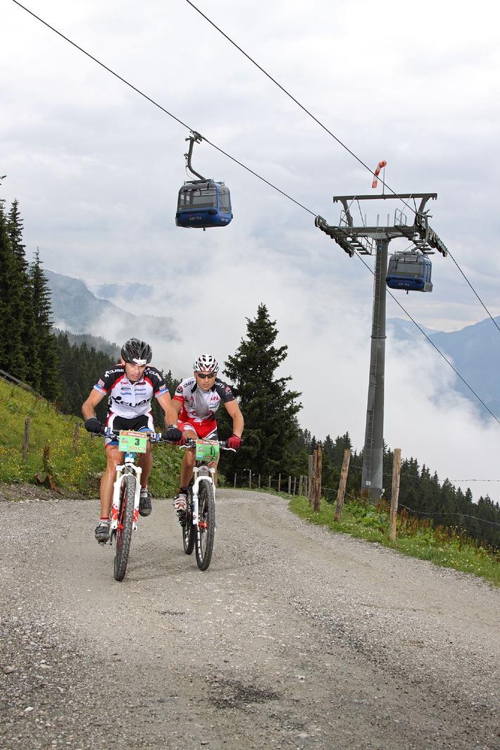 Royaler Auftakt der 2. Auflage der Zillertal Bike Challenge am 2. Juli 2010