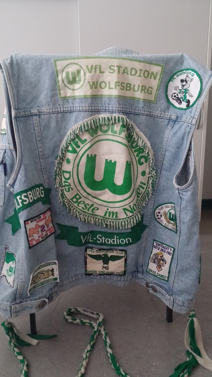 Fankutte VFL Wolfsburg- Rückseite