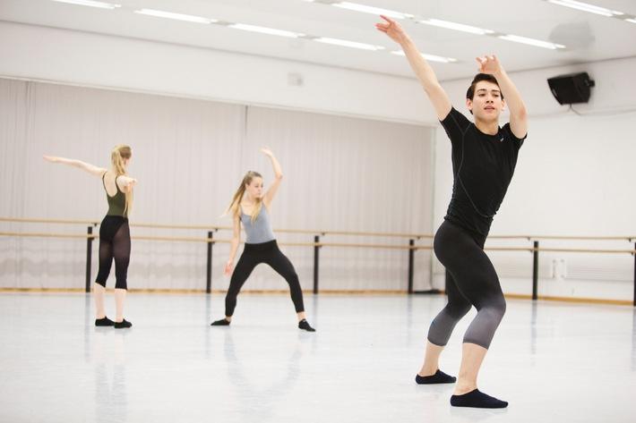 Percento culturale Migros: concorso di danza 2014 / Giovani ballerini eccellenti