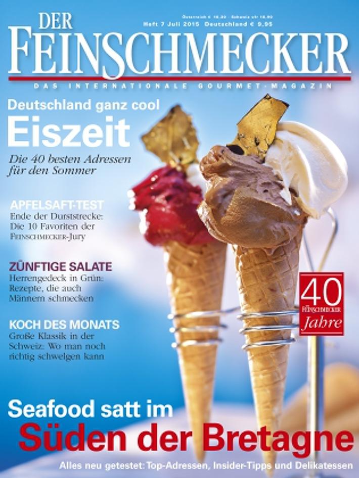 Deutschland ganz cool: DER FEINSCHMECKER empfiehlt die 40 besten Eisdielen