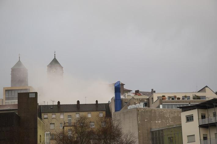 Bild mit Rauch