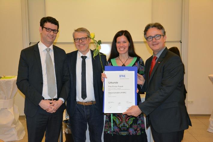 Erste staatlich anerkannte Optometristen in Nordrhein-Westfalen