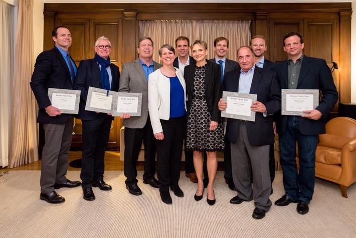Greater Zurich Area ernennt Ehrenbotschafter in den USA
