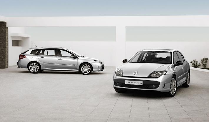 Der neue Renault Laguna GT - Sportliches Topmodell mit Allradlenkung