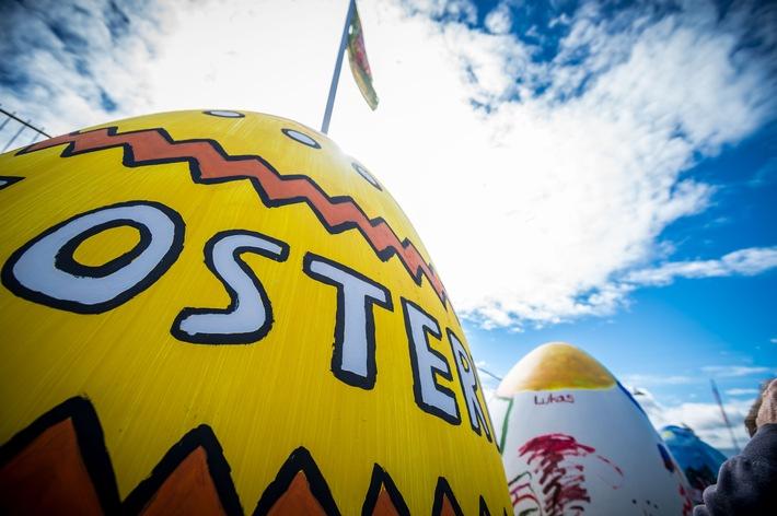 """Zu Ostern wird aus Travemünde """"Ostermünde"""", auch andere Orte entlang der Ostsee Schleswig-Holsteins locken mit bunten Angeboten und Familien-Arrangements (Copyright: LTM / Olaf Malzahn)"""