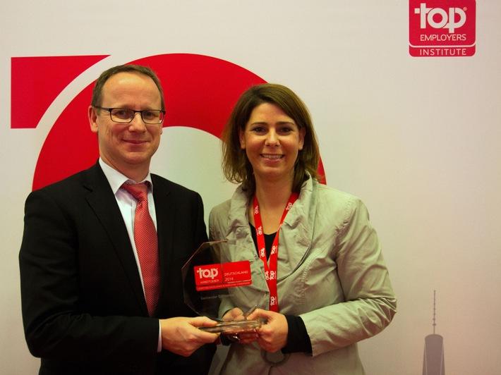"""Santander Consumer Bank ist """"Top Arbeitgeber Deutschland 2014"""""""