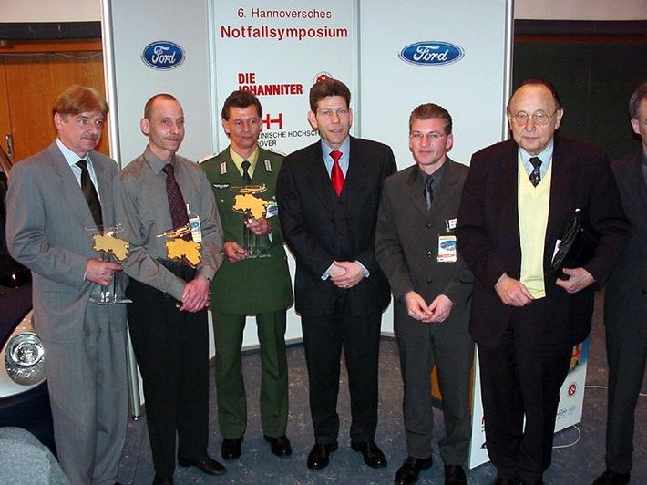 """""""Hans-Dietrich Genscher-Preis"""" in Hannover verliehen / Ford-Werke AG sponsort das 6. Hannoversche Notfallsymposium"""