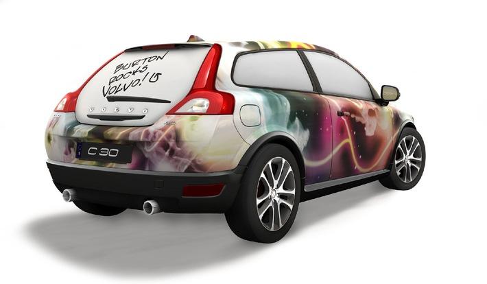 Volvo Cars wird Mainpartner von Burton Snowboards in Europa - offizieller Start mit dem Burton European Open 2009 in Laax