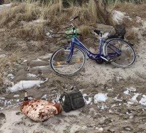 Aufgefundene Sachen am Strand von Peenemünde