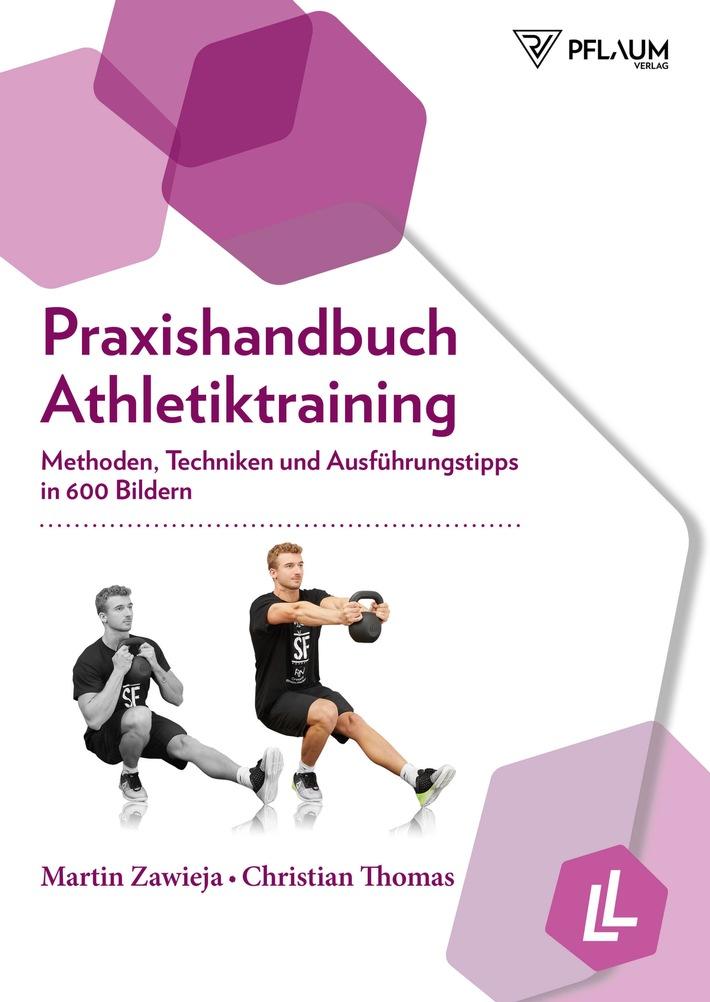 Geballtes Praxiswissen aus dem Pflaum Verlag  zu den aktuellen Trainingsthemen Regenerationsstrategien und Athletiktraining