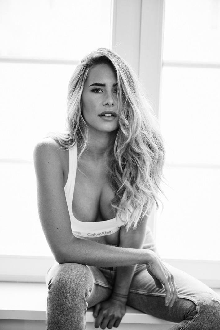 """Anahita Rehbein wird Unterwäsche Model / MGM Models. Weiterer Text über ots und www.presseportal.de/nr/129365 / Die Verwendung dieses Bildes ist für redaktionelle Zwecke honorarfrei. Veröffentlichung bitte unter Quellenangabe: """"obs/MGM Models GmbH"""""""