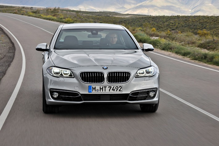 """The top seller BMW 5 Series, market leader in its segment.  Further Text via OTS and www.presseportal.de / Use of picture is free of charge. Please quote the source: """"obs/BMW Group"""""""