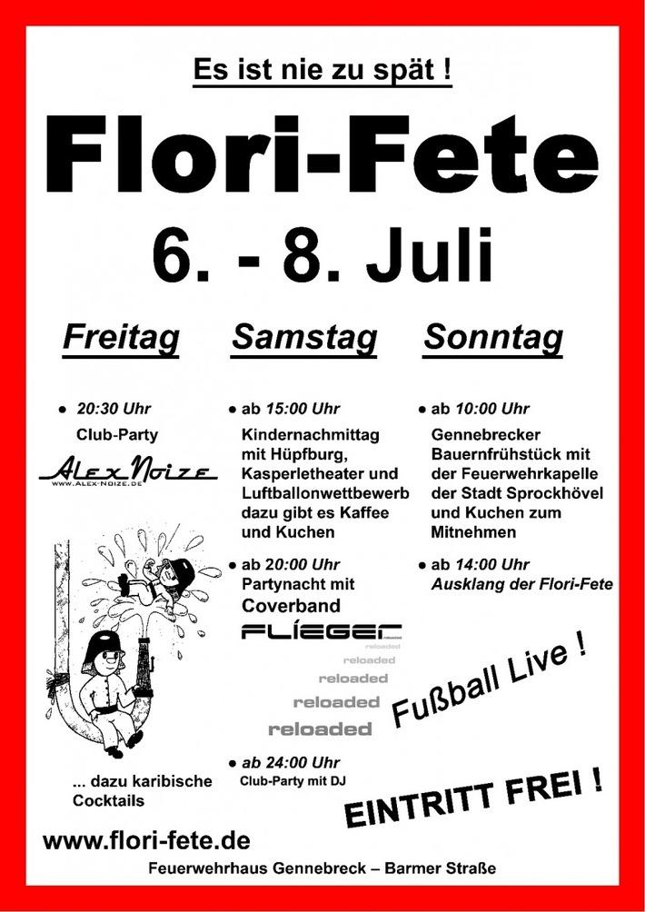 Plakat Flori-Fete 2018