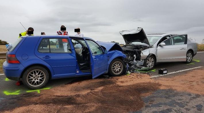 Verkehrsunfall mit tödlich verletzter Person