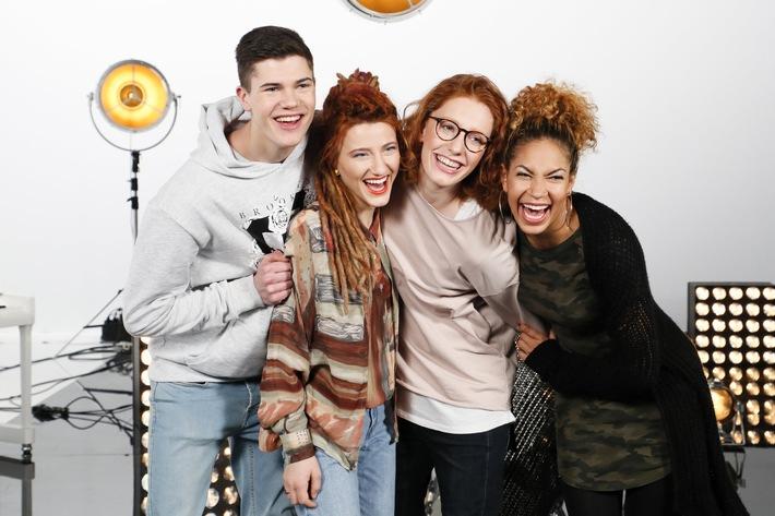 Benedikt, Natia, Anna und BB singen im Finale von #TVOG