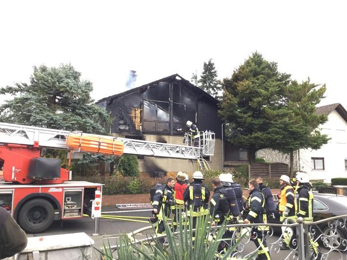 POL-FB: Frau bei Wohnhausbrand in Echzell uns Leben gekommen