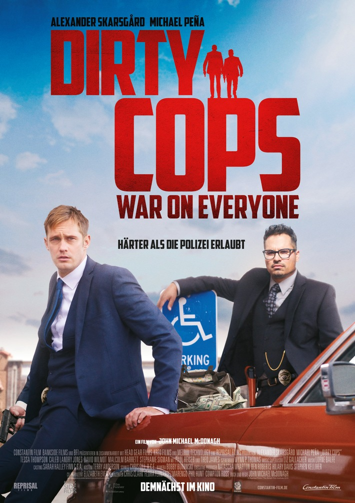 DIRTY COPS: WAR ON EVERYONE ab 17. November 2016 im Kino