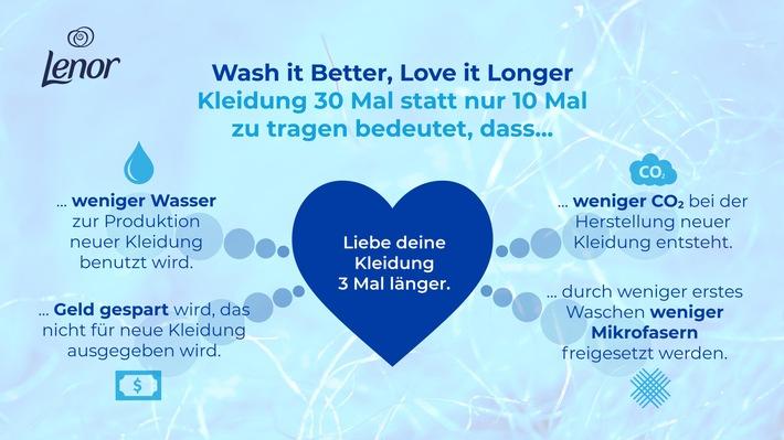 """Wash it Better, Love it Longer. Weiterer Text über ots und www.presseportal.de/nr/13483 / Die Verwendung dieses Bildes ist für redaktionelle Zwecke honorarfrei. Veröffentlichung bitte unter Quellenangabe: """"obs/Procter & Gamble Germany GmbH & Co Operations oHG"""""""