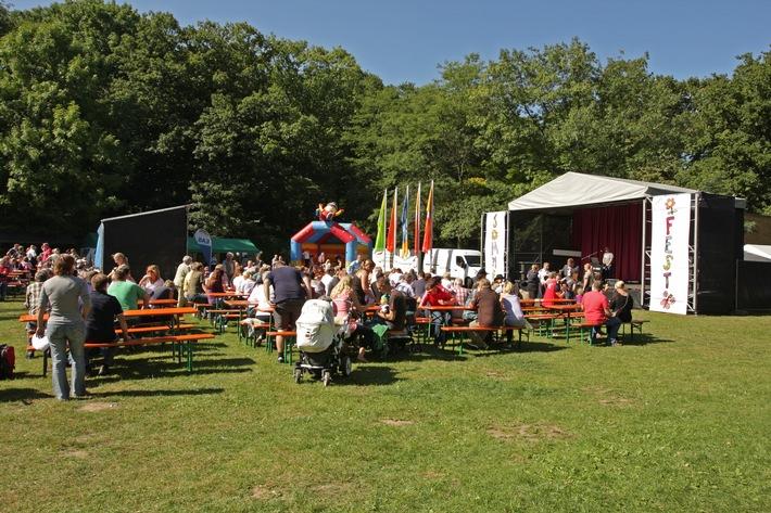 Marinekommando feiert Sommerfest im Rostocker Zoo