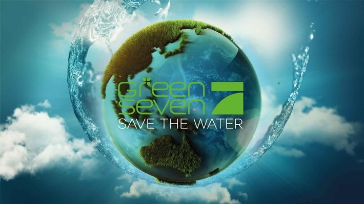 """Wird Wasser bald so wertvoll sein wie Gold? """"Green Seven 2016: Save the Water"""" auf ProSieben"""