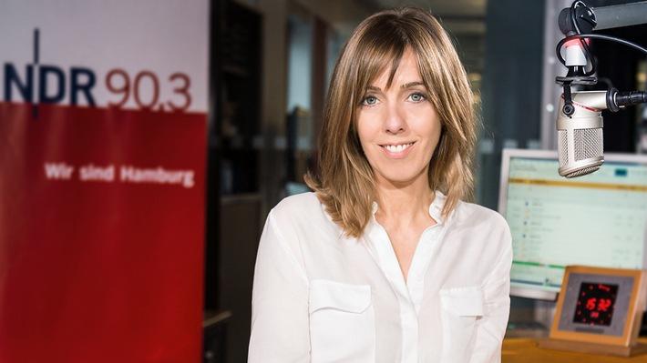 Neu bei NDR 90,3: Jacqueline Heemann moderiert den Vormittag