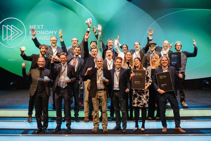 Pressemitteilung: 3. Next Economy Award ehrt Deutschlands nachhaltigste Startups