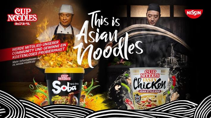 This is Asian Noodles-Kampagne / Weiterer Text über ots und www.presseportal.de/nr/144021 / Die Verwendung dieses Bildes ist für redaktionelle Zwecke unter Beachtung ggf. genannter Nutzungsbedingungen honorarfrei. Veröffentlichung bitte mit Bildrechte-Hinweis.