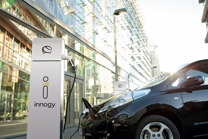 Flexibel elektrisch mobil: innogy eCarSharing