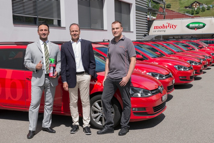 Exclusive cooperation between Mobility and Maxolen.