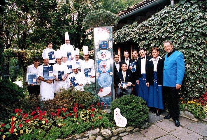 Die freundlichsten Teams des Schweizer Gastgewerbes 2004 von guide-bleu.ch nominiert