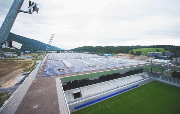 """Electrosuisse zertifiziert eine weitere Photovoltaikanlage mit dem Swiss-PV-Label nach dem Zertifizierungsverfahren """"SWISS CERTIFIED"""""""