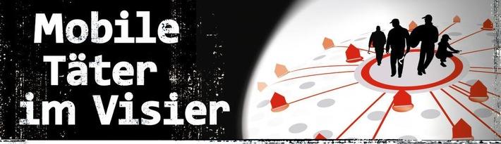 Mobile Täter im Visier - Logo