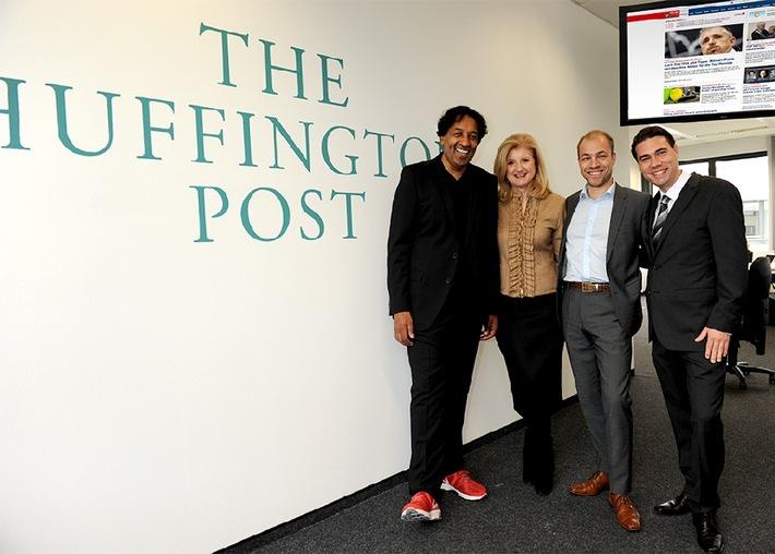 Deutschsprachige Huffington Post startet morgen - Cherno Jobatey wird Editorial Director