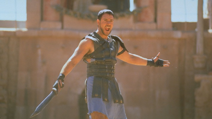 "Ostersonntag bei RTL II: ""Gladiator"""