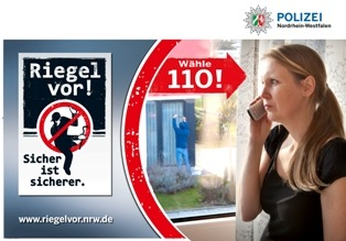 POL-REK: Gesicherte Fenster verhinderten Einbruch - Erftstadt