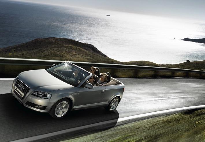 Europcar: Cabriolet a noleggio con garanzia bel tempo