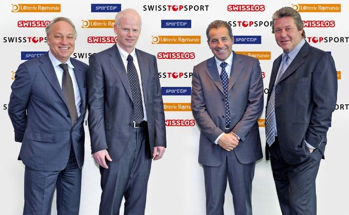 La Loterie Romande partenaire des SwissTopSport