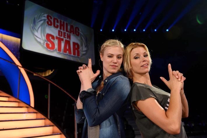 """Zwei Blondinen geben Vollgas: Larissa Marolt gegen Annica Hansen bei """"Schlag den Star"""" auf ProSieben"""