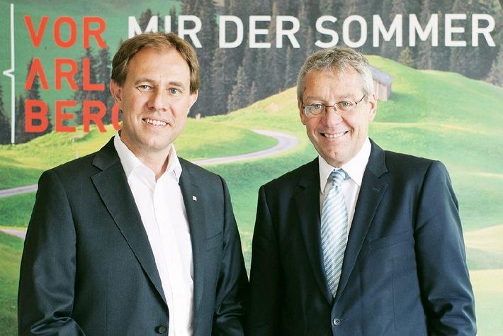 Vorarlberg Tourismus: nach Rekordwinter mit hohen Erwartungen in die Sommersaison - BILD