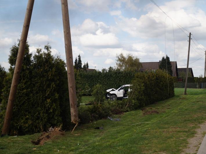 POL-BOR: Heiden - Drei Verletzte bei Verkehrsunfall
