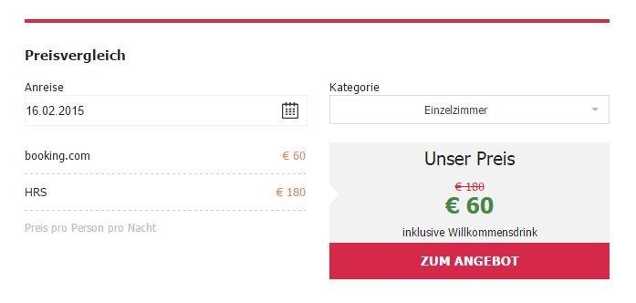 easybooking bringt den Preisvergleich direkt auf die Vermieter-Website - BILD