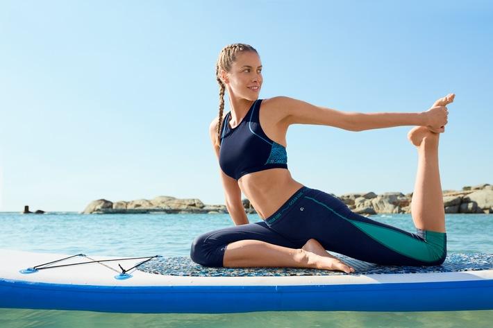 """Tchibo bietet Sportkollektion aus """"Ocean Plastic"""", PET-Flaschen & Textilabfällen an (FOTO)"""