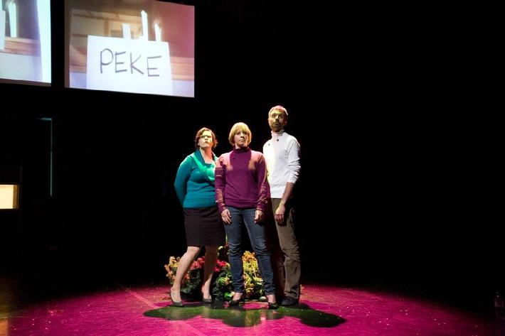 L'une des cinq productions «Prairie» sélectionnées pour la saison 2010/2011: la 2b Company de Lausanne, avec son projet KKQQ (©Nelly Rodriguez).