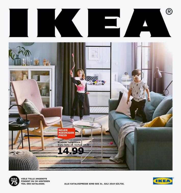 """Der IKEA Katalog 2019 / Weiterer Text über ots und www.presseportal.de/nr/29291 / Die Verwendung dieses Bildes ist für redaktionelle Zwecke honorarfrei. Veröffentlichung bitte unter Quellenangabe: """"obs/IKEA Deutschland GmbH & Co. KG/Inter IKEA Systems B.V. 2018"""""""