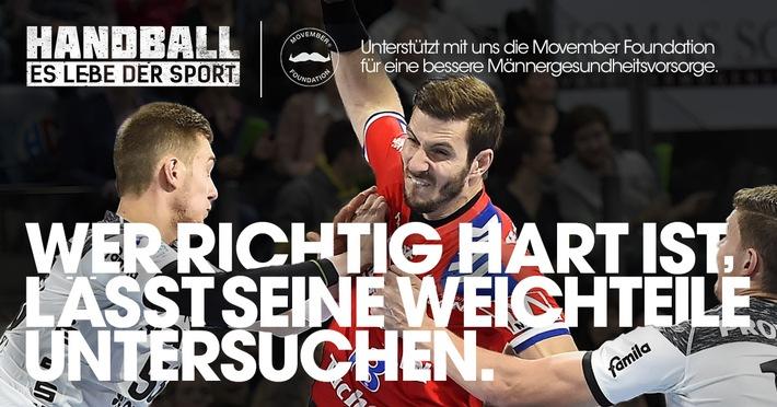 """Motiv der Kampagne """"Handball - Es lebe der Sport"""". Alle weiteren Kampagnenmotive zum Download unter www.es-lebe-der-sport.de / Weiterer Text über ots und www.presseportal.de/nr/125864 / Die Verwendung dieses Bildes ist für redaktionelle Zwecke honorarfrei. Veröffentlichung bitte unter Quellenangabe: """"obs/Handball-Bundesliga"""""""