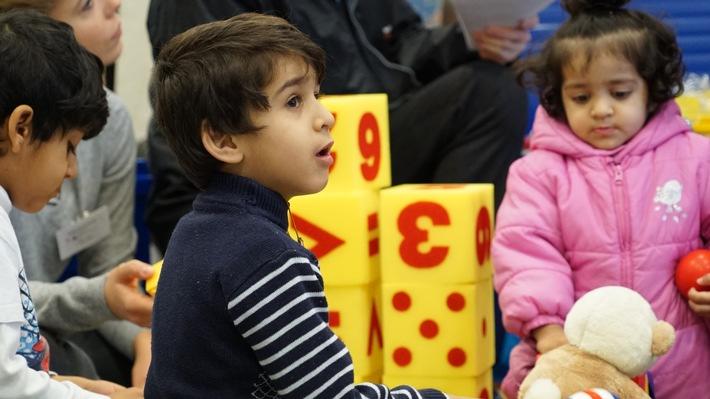 Syrische Flüchtlingskinder in Deutschland