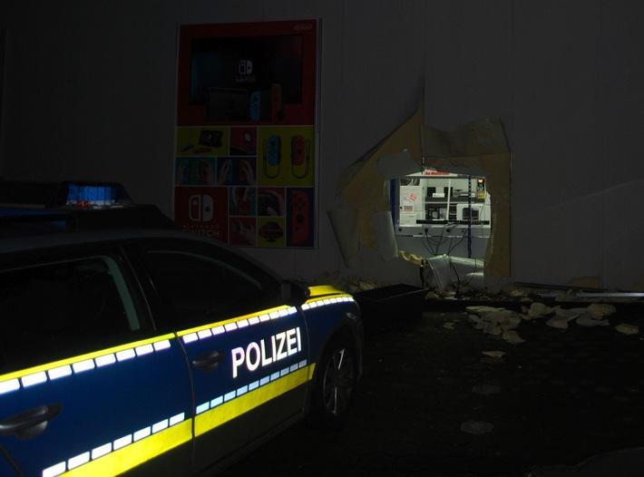 Einbruch in Buxtehuder Media-Markt