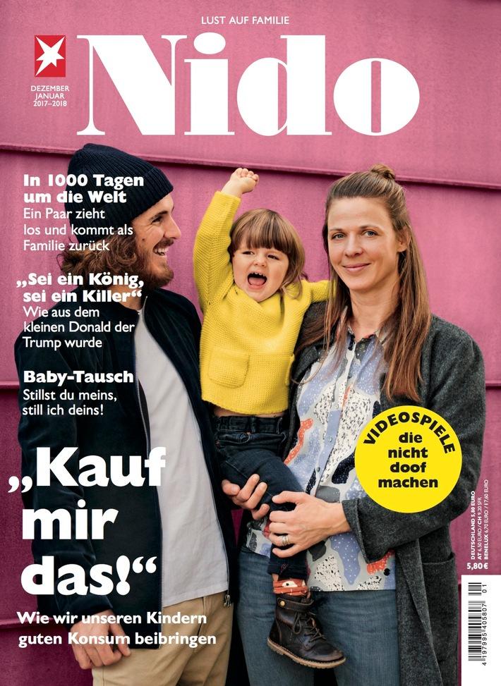 """Rapper Florian Sump im Familienmagazin NIDO: """"In Wahrheit sind wir die Kelly Family"""""""