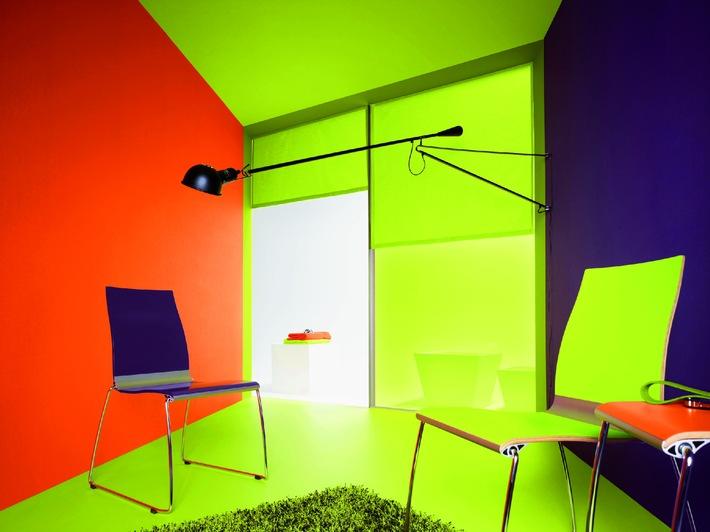 Tapeten-Trends 2011 / Mutige Kombinationen in Farben, Formen und ...