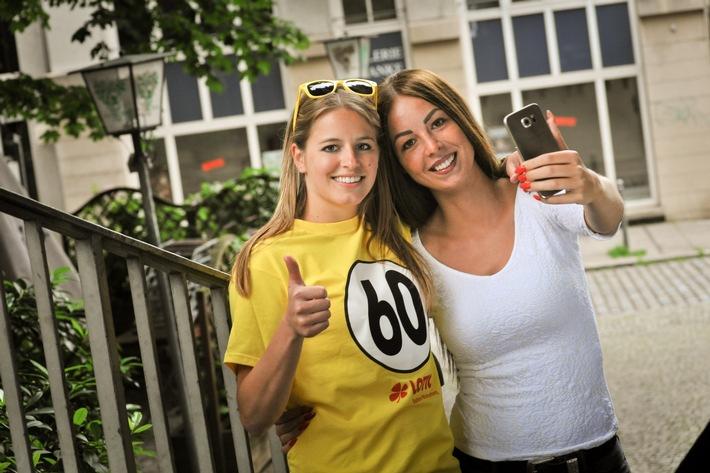 """""""Catch the Sixty"""" in Freiburg, Mannheim und Ulm / Innovatives Geotracking-Eventspiel zum 60. Lotto-Geburtstag"""